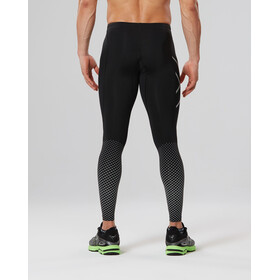 2XU M's Reflect Compression Tights Regular Black/Silver Reflective